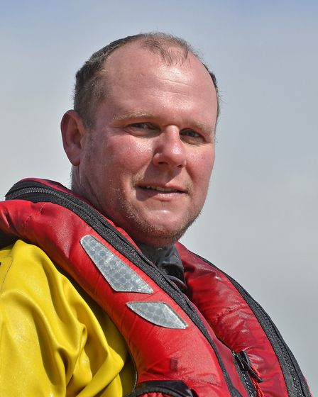 Colin Plummer. Nominated for a Stars of Norfolk and Waveney Award 2020 Outstanding Bravery Act of th