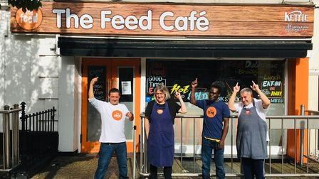 The Feed Cafe, Norwich. Nominated for a Stars of Norfolk and Waveney Award 2020 Team/Community Group