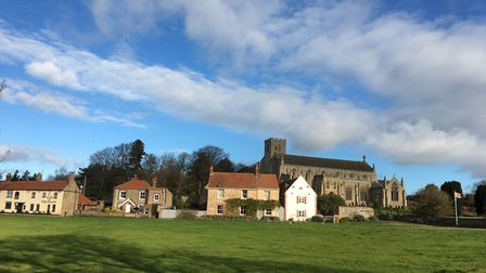 Cley. Nominated for a Stars of Norfolk and Waveney Award 2020 Village/Town of the Year. Picture: CLE