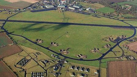 RAF Coltishall from the air. Picture; MIKE PAGE