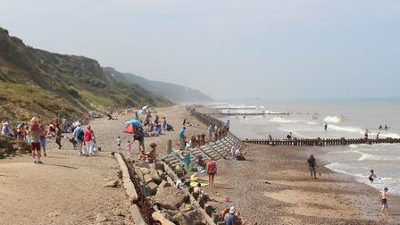 The beach at Overstrand. Picture: Casey Cooper-Fiske