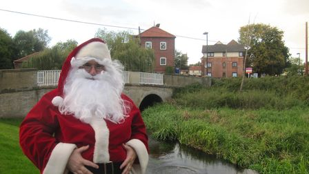 Nick Bird from Fakenham has been playing the role of Father Christmas for the last 20 years, visitin