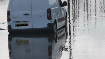 The extent of flooding around Oulton Broad. Photo: John Welch