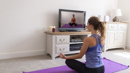 You can tune into a yoga class from the comfort of your own home Picture: contributed