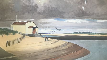 A painting by the late farmer and naturalist Richard Waddingham Picture: THE WADDINGHAM FAMILY
