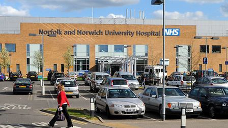 Latest NHS figures show there were 45 people with Covid-19 occupying beds at Norfolk and Norwich Uni