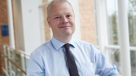 """Sam Higginson, cheif executive at Norfolk and Norwich University Hospital (NNUH), says """"robust and w"""