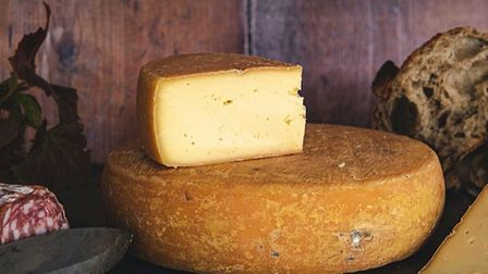 The cheese is named after St Helena in Australia where Blake lived as a young boy Picture: St. Jude