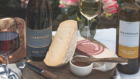 Pair wine and cheese from the Sharpham Estate in Devon Picture: Nick Hook