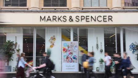 Marks & Spencer will be open until midnight in some Norwich locations. Picture: DENISE BRADLEY