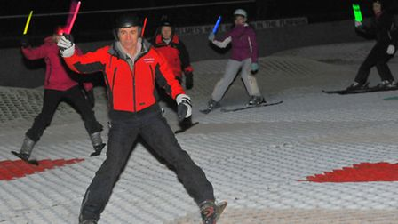 Norfolk Snow Sports Club, Trowse celebrating the start of the Winter Olympics in Sochi with decents