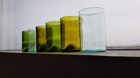Green Bottle Glass have expanded their business to offer around 30 different products. Picture: subm