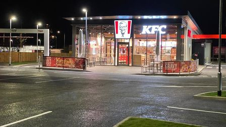 The new KFC in Mitchell Drive, Great Yarmouth, opened on Monday (November 23) bringing up to 80 new