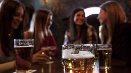 Pubs will be able to open until 11pm after lockdown but will face new restrictions. Picture: Getty I