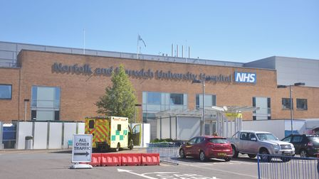 Three more Covid-19 patients have died at the Norfolk and Norwich University Hospital. Picture: Brit
