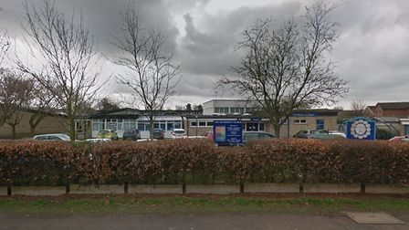 Picture of outside of White Woman Lane Junior School in Norwich