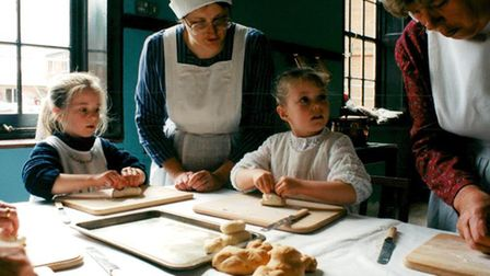 Victorian day at Felbrigg Hall, 1997. Picture: Archant Library