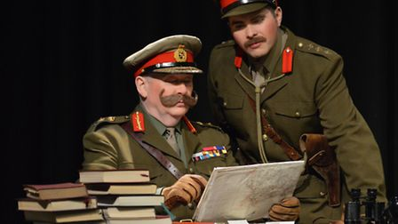 Dereham Theatre Company performed a stage version of TV comedy Blackadder Goes Forth at Dereham Memo