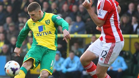 Norwich City striker Gary Hooper has not scored since Boxing Day. Picture by Paul Chesterton/Focus I