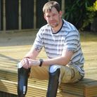 Duncan Slater who was injured in Afghanistan whilst serving with the Armed Forces.