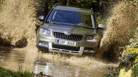 As well as the standard Skoda Yeti, the facelifted range has an Outdoor model which is better prepa