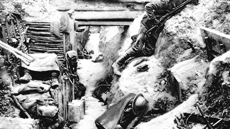 Life in the trenches for real. Picture: PA Wire
