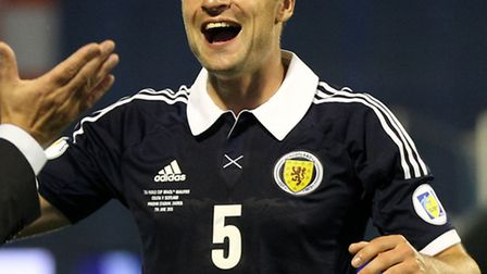 Norwich City defender Russell Martin has established himself in Scotland's backline. Picture: Lynne