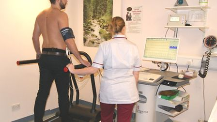 The new treadmill at the QEH. Picture: Submitted