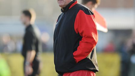 Dick Creasey is already planning for Wisbech's next crack at the FA Vase. Picture: IAN BURT