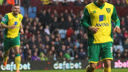 Norwich City boss Chris Hughton has spoken to Wes Hoolahan about the understated goal celebration ag