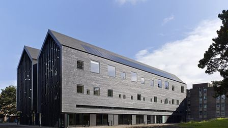 City College Norwich�s new state of the art Creative Arts Building has won a Civic Trust Award. Pict