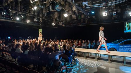 Cocoon. The Designers Shows at Norwich Fashion Week, held at Epic. Photo: Bill Smith