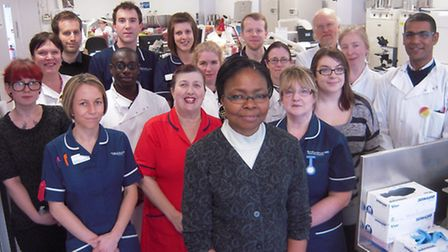 The Norfolk and Norwich University Hospital's infection prevention and control team and microbiolog