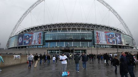 Wembley. Picture: PA.