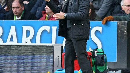 Norwich boss Chris Hughton remains convinced City can secure their Premier League status. Picture by
