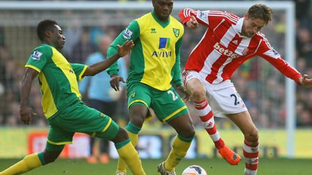 Alex Tettey just wants an injury-free run for Norwich City. Picture by Paul Chesterton/Focus Images