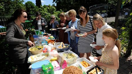 Last summer, Grapes Hill Community Garden Group (GHCGG) had their first Big Lunch in their organic g