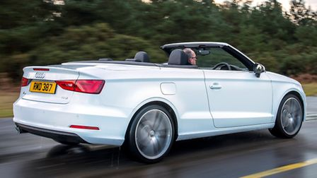 New Audi A3 Cabriolet features the saloon's styling so its proportions are better balanced and its b