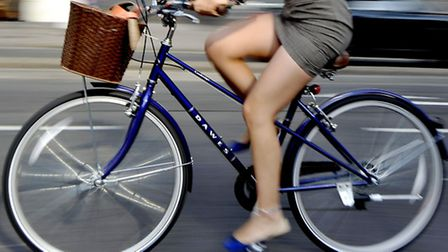 Cycling can be a nerve-wracking experience if some drivers don't make allowances for you.