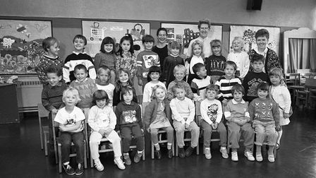 Northfield's First School in Norwich, June 1989. Picture: Archant Library