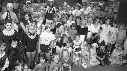 Norwich Fairway School, Eaton playgroup, 15th August 1986. Photo: Archant Library