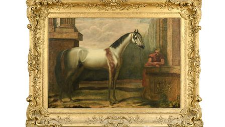 The Bloody Shouldered Arabian by John Wootton which is up for sale through Cheffins Picture: CHEFFINS