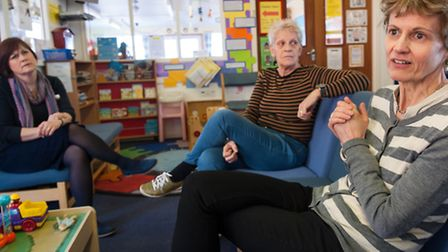 Ormiston Children & Families Trust working with families and children at Norwich prison. Photo: Bill