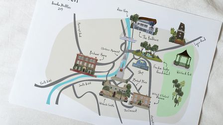 Brandon Mattless, who has designed a map of March and Wisbech, has helped design characters and scenarios for children's...