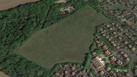 Capital Community Developments has filed in its appeal to build 75 homes in Rendlesham Picture: GOOGLE EARTH