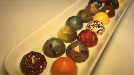 Artisan Chocolates by Saffire in the Royal Arcade, Norwich. Picture: Neil Didsbury