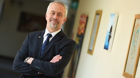 Dave Lee-Allan, chairman of the Suffolk Association of Secondary Heads Picture: ARCHANT