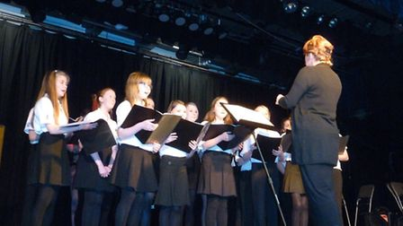 The Rotary Club of Norwich once again staged an Inter Schools Choirs Competition on Wednesday 26 Mar