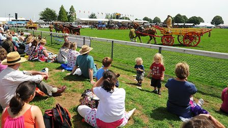 From next year, pupils will not be given a day off school to attend the show. Picture: James Bass