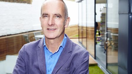 Kevin McCloud on Grand Designs.